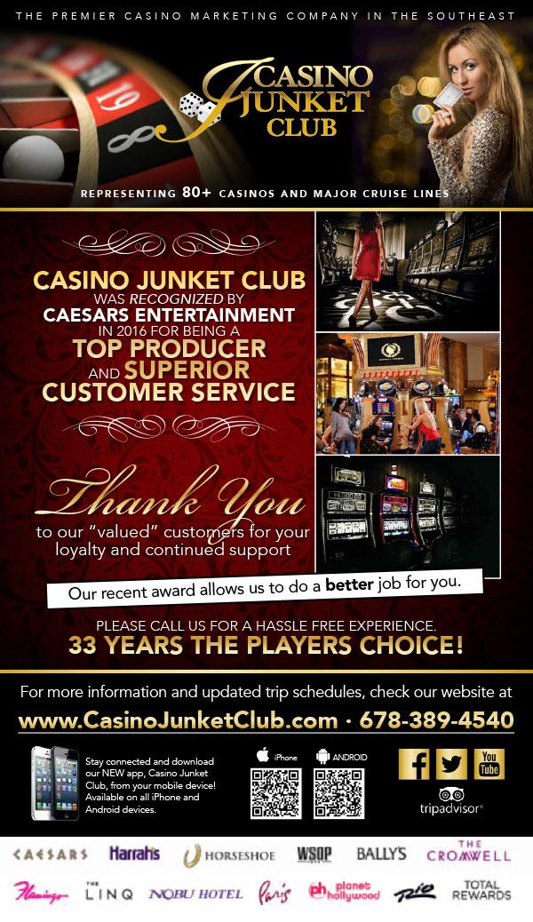 Casino junkets from atlanta